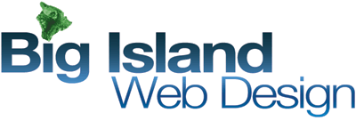 big island web design logo